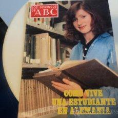 Coleccionismo de Los Domingos de ABC: LOS DOMINGOS DEL ABC. PORTADA: CÓMO VIVE UNA ESTUDIANTE EN ALEMANIA. 2-SEPTIEMBRE-1979. Lote 37342328
