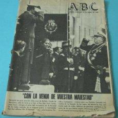 Coleccionismo de Los Domingos de ABC: ABC. 20-ENERO-1980. ALFONSO XIII, EN TIERRA DE ESPAÑA. Lote 37405346