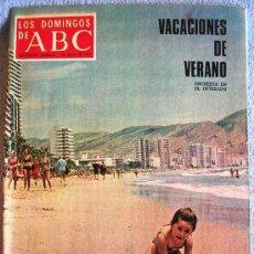 Collectionnisme de Los Domingos de ABC: LOS DOMINGOS DE ABC, JULIO 1973. EUGENE IONESCO, FERNANDO REY, CASTILLO PUCHE, SUMMERS, DE LAIGLESIA. Lote 37408829