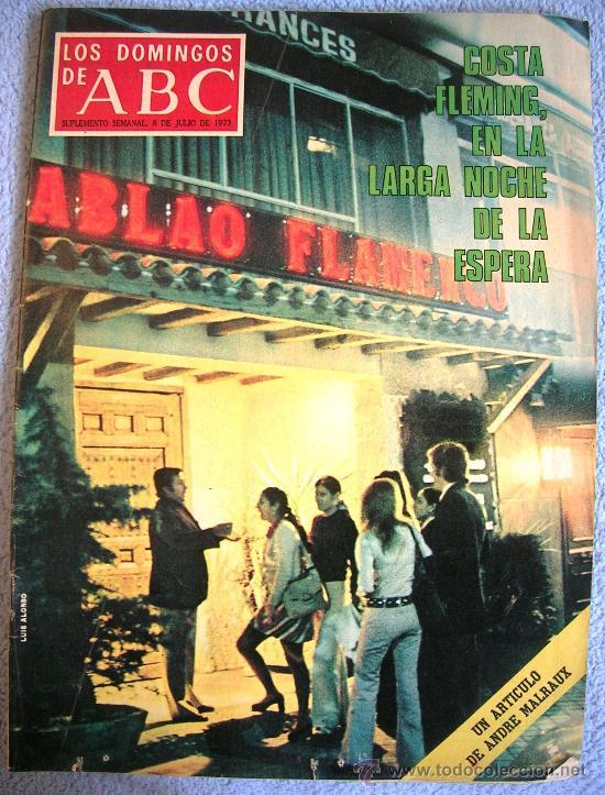 LOS DOMINGOS DE ABC, JULIO 1973. MALRAUX, MADARIAGA, COSTA FLEMING, LESLIE CARON, GARCIA PAVON...... (Coleccionismo - Revistas y Periódicos Modernos (a partir de 1.940) - Los Domingos de ABC)
