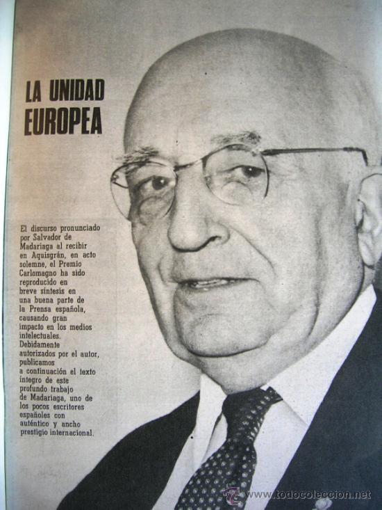 Coleccionismo de Los Domingos de ABC: LOS DOMINGOS DE ABC, JULIO 1973. MALRAUX, MADARIAGA, COSTA FLEMING, LESLIE CARON, GARCIA PAVON...... - Foto 5 - 37408903