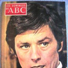 Coleccionismo de Los Domingos de ABC: LOS DOMINGOS DE ABC, SEPTIEMBRE DE 1973. WATERGATE, DEL RIO SAINZ, ELCANO, ALAIN DELON, EL FLAMENCO.. Lote 37429425