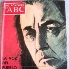 Coleccionismo de Los Domingos de ABC: LOS DOMINGOS DE ABC, SEPTIEMBRE 1973.ORTEGA, SANCHEZ-CORTES, CAGANCHO, SOLZHENITSIN, MARQUES DE SADE. Lote 37466047