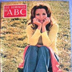 Coleccionismo de Los Domingos de ABC: LOS DOMINGOS DE ABC, MARZO 1974. VICTORIANO DE LA SERNA, ROCIO JURADO, SAMUEL PISAR, MINGOTE, GAD.... Lote 37466967