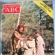 Collectionnisme de Los Domingos de ABC: LOS DOMINGOS DE ABC, ENERO 1973. MARIENBURGO, GARCIA CARRES, UFARTE, LUCIANA WOLF, MARISOL AYUSO..... Lote 37470414