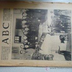 Coleccionismo de Los Domingos de ABC: ABC 14 MARZO 1942 , FOTOS MILITARES Y TORERO, SEVILLA. Lote 37977321