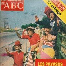 Coleccionismo de Los Domingos de ABC: LOS PAYASOS DE TVE 1975 GABI FOFO MILIKI LOS DOMINGOS DE ABC. Lote 38091856
