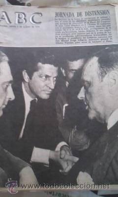 LOTE DE 8 PERIÓDICOS ABC MADRID DE 1978 Y UNO DE 1980 (Coleccionismo - Revistas y Periódicos Modernos (a partir de 1.940) - Los Domingos de ABC)