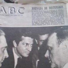 Coleccionismo de Los Domingos de ABC: LOTE DE 8 PERIÓDICOS ABC MADRID DE 1978 Y UNO DE 1980. Lote 38112213
