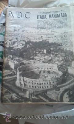 Coleccionismo de Los Domingos de ABC: Lote de 8 periódicos ABC MADRID DE 1978 Y UNO DE 1980 - Foto 2 - 38112213