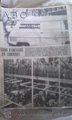 Coleccionismo de Los Domingos de ABC: Lote de 8 periódicos ABC MADRID DE 1978 Y UNO DE 1980 - Foto 3 - 38112213
