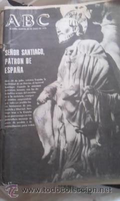 Coleccionismo de Los Domingos de ABC: Lote de 8 periódicos ABC MADRID DE 1978 Y UNO DE 1980 - Foto 5 - 38112213