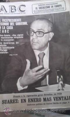 Coleccionismo de Los Domingos de ABC: Lote de 8 periódicos ABC MADRID DE 1978 Y UNO DE 1980 - Foto 6 - 38112213
