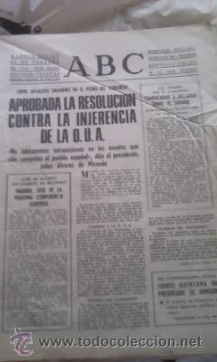 Coleccionismo de Los Domingos de ABC: Lote de 8 periódicos ABC MADRID DE 1978 Y UNO DE 1980 - Foto 7 - 38112213