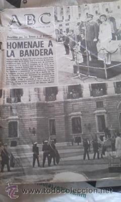 Coleccionismo de Los Domingos de ABC: Lote de 8 periódicos ABC MADRID DE 1978 Y UNO DE 1980 - Foto 8 - 38112213