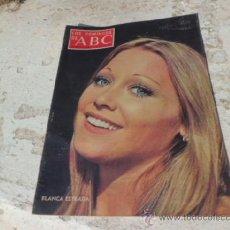Coleccionismo de Los Domingos de ABC: REVISTA LOS DOMINGOS DE ABC SUPLEMENTO SEMANAL 21 JULIO 1974 R-143. Lote 38167250