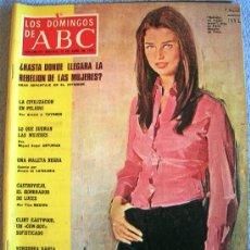 Coleccionismo de Los Domingos de ABC: LOS DOMINGOS DE ABC, ABRIL 1973. CASTROVIEJO, CLINT EASTWOOD, LAIGLESIA, REVELLO DEL TORO, VERUSHKA.. Lote 38370462