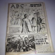 Coleccionismo de Los Domingos de ABC: ANTIGUO PERIODICO ABC, . Lote 38540508