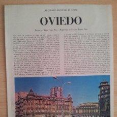 Coleccionismo de Los Domingos de ABC: LAS CIUDADES MÁS BELLAS DE ESPAÑA OVIEDO SUPLEMENTO ABC 1967. Lote 39032120