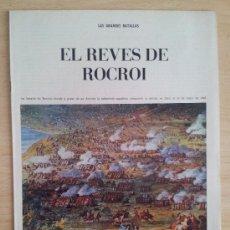 Coleccionismo de Los Domingos de ABC: LAS GRANDES BATALLAS EL REVÉS DE ROCROI SUPLEMENTO ABC 1967. Lote 39032160