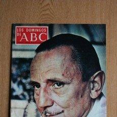 Coleccionismo de Los Domingos de ABC: REVISTA ABC. 26 DE SEPTIEMBRE DE 1971. ENTREVISTA CON BUERO VALLEJO.. Lote 39121827