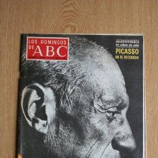 Colecionismo de Los Domingos de ABC: REVISTA ABC. 17 DE OCTUBRE DE 1976. PICASSO EN EL RECUERDO.. Lote 39122713