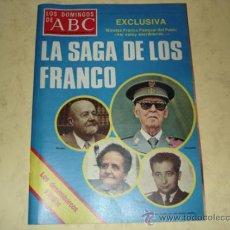 Coleccionismo de Los Domingos de ABC: LOS DOMINGOS DE ABC - LA SAGA DE LOS FRANCO - 30 NOV. 1975. Lote 39283882