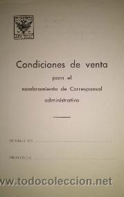 NOMBRAMIENTO DE CORRESPONSAL ADMINISTRATIVO DEL PERIODICO ABC 1939 (Coleccionismo - Revistas y Periódicos Modernos (a partir de 1.940) - Los Domingos de ABC)