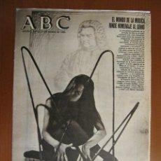Coleccionismo de Los Domingos de ABC: JUAN SEBASTIÁN BACH. EL MUNDO DE LA MÚSICA RINDE HOMENAJE AL GENIO. ABC 21 DE MARZO DE 1985. Lote 39666152