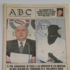 Coleccionismo de Los Domingos de ABC: PERIODICO ABC , 29 DE DICIEMBRE 1995 .. Lote 39695011