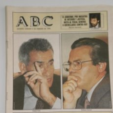 Coleccionismo de Los Domingos de ABC: PERIODICO ABC , SABADO 4 DE FEBRERO 1995 .. Lote 39695066