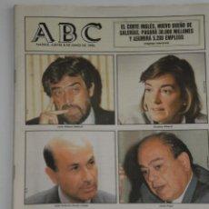 Coleccionismo de Los Domingos de ABC: PERIODICO ABC , JUEVES 8 DE JUNIO 1995 .. Lote 39695077