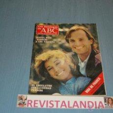 Coleccionismo de Los Domingos de ABC: LOS DOMINGOS DE ABC MIGUEL BOSE FEDERICO TRILLO FRANCO 22-6-86. Lote 39764246