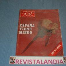 Coleccionismo de Los Domingos de ABC: :LOS DOMINGOS DE ABC,MANUEL FRAGA,WHITNEY HOUSTON,FRANCO,15-6-86. Lote 39764285