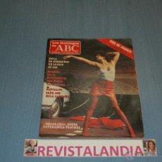 Coleccionismo de Los Domingos de ABC: :LOS DOMINGOS DE ABC,CASTELLVI,SOFIA DE HABSBURGO,JAVIER SOLANA,FRANCO,11-5-86. Lote 39764398