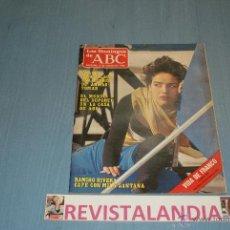 Coleccionismo de Los Domingos de ABC: :LOS DOMINGOS DE ABC,BLANCA MARSILLACH,RAMIRO RIVERA,PITITA RIDRUEJO,FRANCO,2-3-86. Lote 39764504