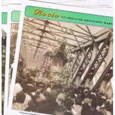 Collectionnisme de Los Domingos de ABC: ROCIO. UN SIGLO DE DEVOCION MARIANA. ABC. FASCICULOS 40,41,47 Y 57. Lote 39768964