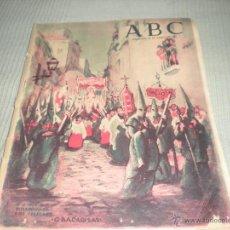 Coleccionismo de Los Domingos de ABC: ABC MARZO DE 1953 NUMERO EXTRAORDINARIO . SEMANA SANTA. Lote 118179603