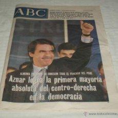 Coleccionismo de Los Domingos de ABC: PERIODICO ABC 13 DE MARZO 2000. Lote 39979035