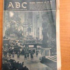 Colecionismo de Los Domingos de ABC: ABC - FUNERALES DE PIO XII - 22 OCTUBRE 1958 - TDKR18. Lote 40068298