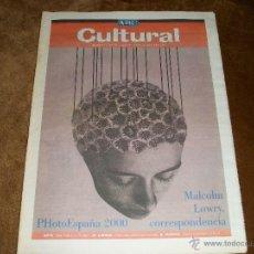 Coleccionismo de Los Domingos de ABC: ABC CULTURAL. Lote 40121804