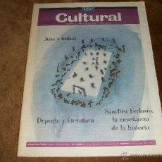 Coleccionismo de Los Domingos de ABC: ABC CULTURAL. Lote 40122458