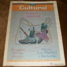 Coleccionismo de Los Domingos de ABC: ABC CULTURAL LITERATURA Y ROCK & ROLL:. Lote 40123453