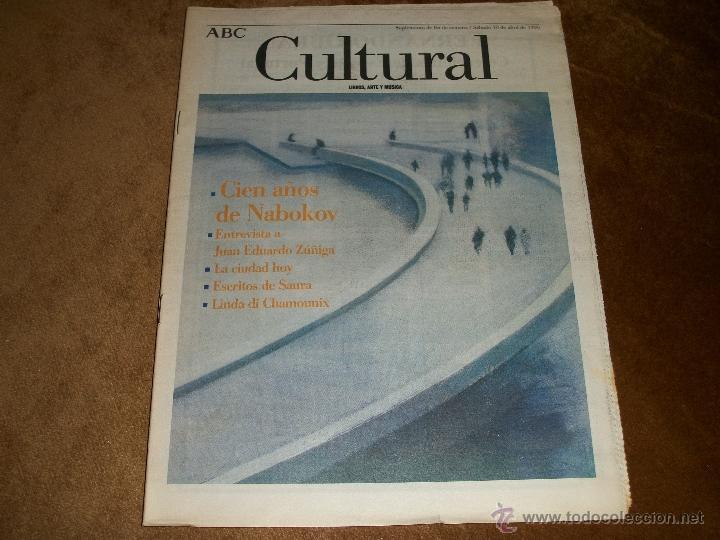 ABC CULTURAL (Coleccionismo - Revistas y Periódicos Modernos (a partir de 1.940) - Los Domingos de ABC)