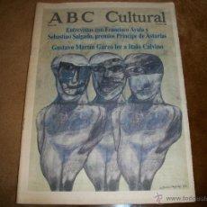 Coleccionismo de Los Domingos de ABC: ABC CULTURAL. Lote 40147221