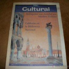 Coleccionismo de Los Domingos de ABC: ABC CULTURAL. Lote 40147554
