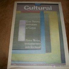 Coleccionismo de Los Domingos de ABC: ABC CULTURAL. Lote 40148500