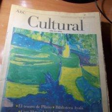 Coleccionismo de Los Domingos de ABC: ABC CULTURAL. Lote 40158339