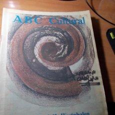 Coleccionismo de Los Domingos de ABC: ABC CULTURAL. Lote 40158394