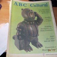 Coleccionismo de Los Domingos de ABC: ABC CULTURAL. Lote 40176247